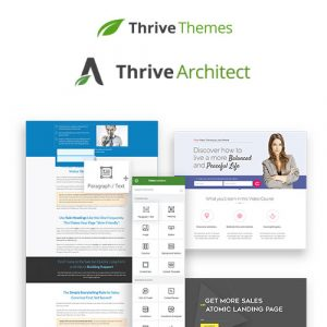 Thrive Architect – Thrive Visual Editor & Landing Page Builder For WordPress