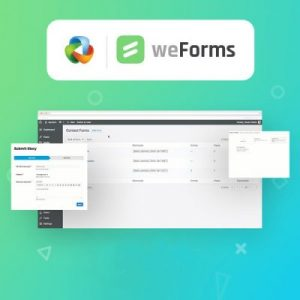 weForms – Pro Business –  Easy Drag & Drop Contact Form Builder For WordPress