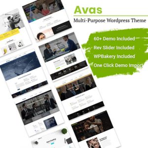 Avas – Elementor WordPress Theme
