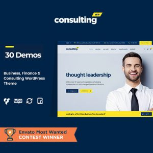 Consulting – Business, Finance WordPress Theme
