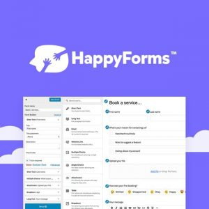 Happy Forms – Sign-Ups, Surveys, Polls and Checkouts for WordPress