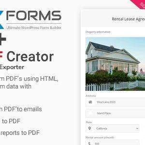 PDF Creator for NEX-Forms -Addon