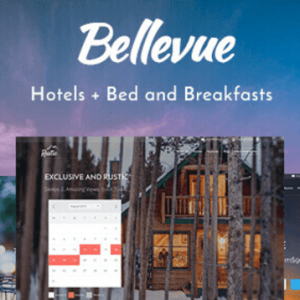Hotel + Bed and Breakfast Booking Calendar Theme   Bellevue