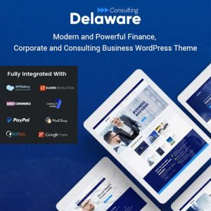 Delaware – Consulting And Finance WordPress Theme